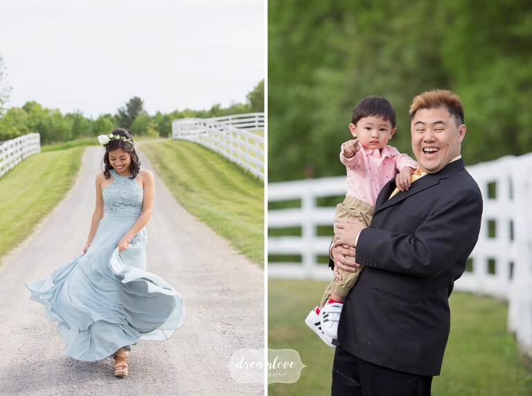 Photojournalism wedding photographer captures Hudson Valley guests.