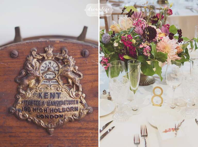 The Linden Place Museum, a historic wedding venue filled with antiques in RI.