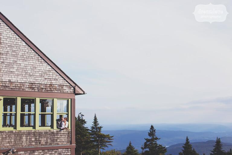 Berkshires mountain wedding at the Bascom Lodge in Adams, MA.