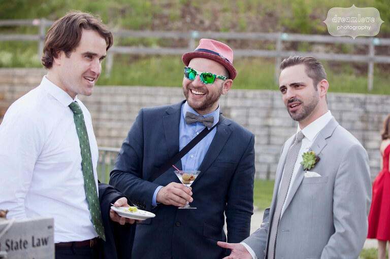 Documentary wedding photography at the Sugarbush, VT in June.