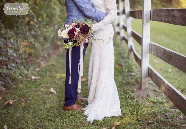 Anthropologie style wedding photography of this September wedding at the Barn at Liberty Farms in upstate NY.