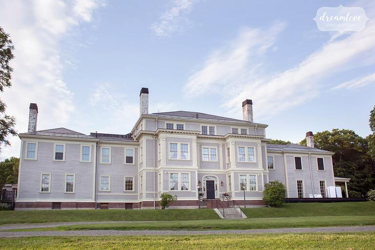 The Lyman Estate is a luxury wedding venue near Boston, MA.