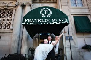 troy, ny - franklin plaza wedding
