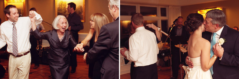 Father of the bride dance at the Woodstock Inn.