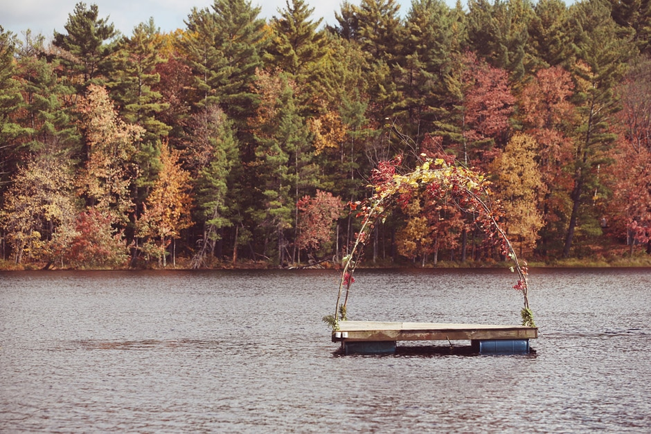 anthropologie rustic wedding photography 002 Our Own Rustic Wedding on Snow Pond, NH... in Canoes!