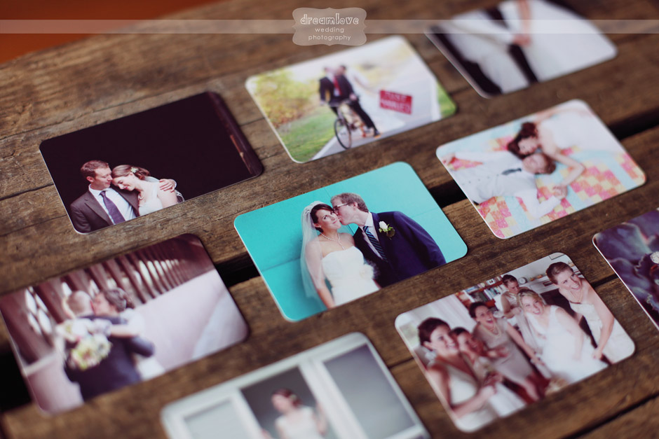 Alternative Vintage Rustic Wedding Photography Business Cards by Moo