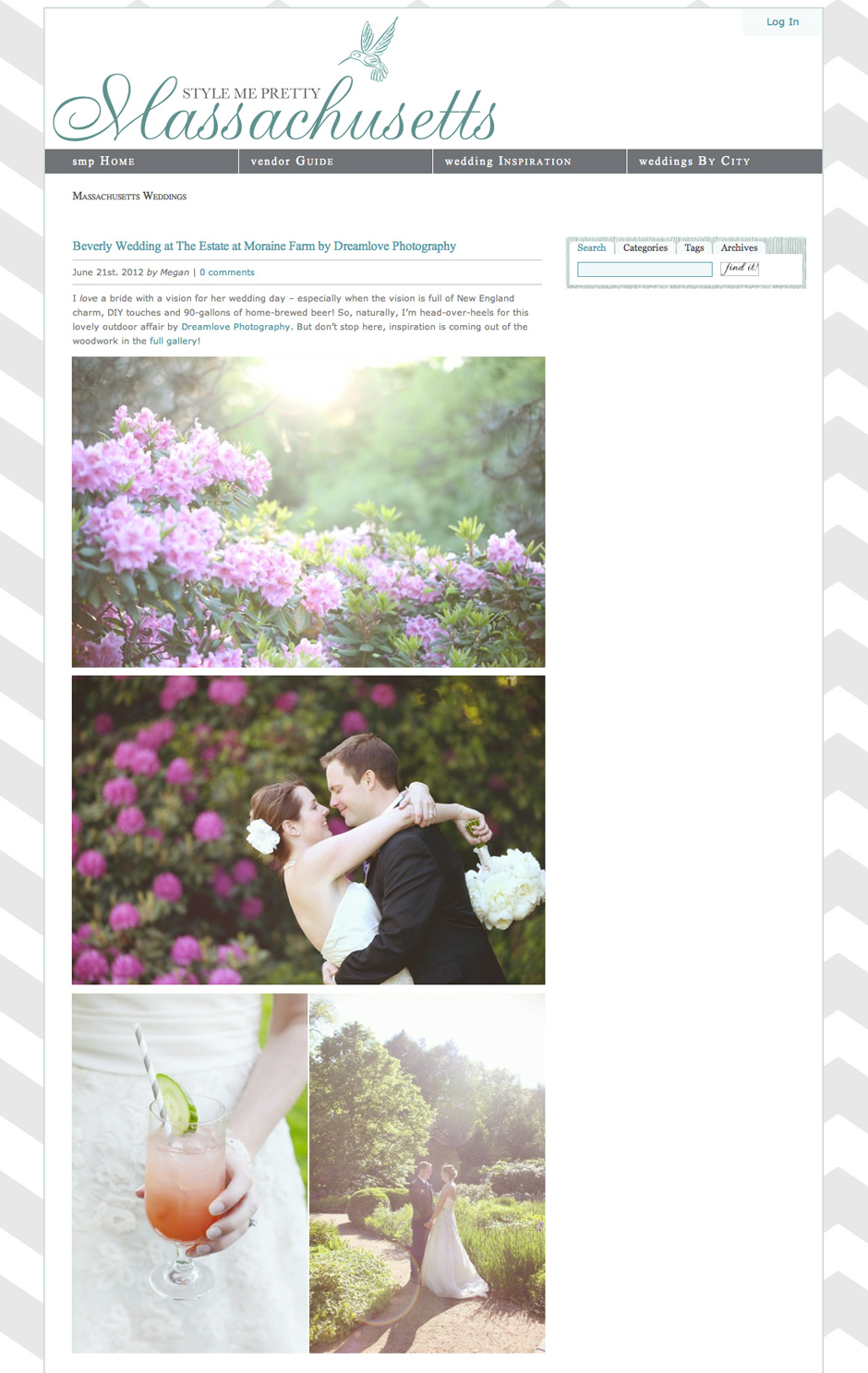 moraine farm diy wedding smp Featured   Style Me Pretty   Rustic Moraine Farm Wedding in Beverly, MA