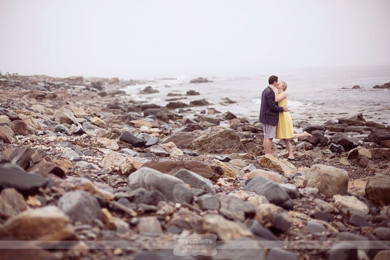 Odiorne Point Coastal Engagement Photography On The