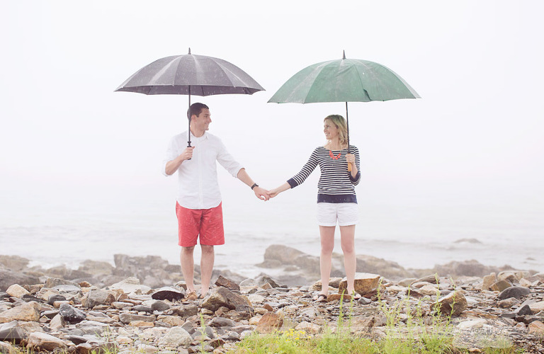 odiorne-point-engagement-rain