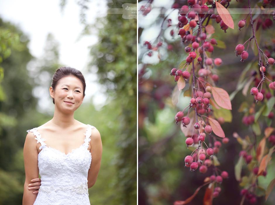 Natural Light Wedding Photography: Natural Light Orchard Wedding Photography