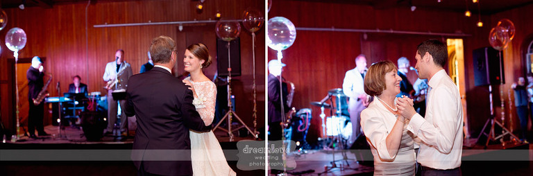 Pictures of the father/daughter and mother/son dance.