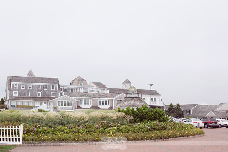 The exterior of the Wychmere Beach Club.
