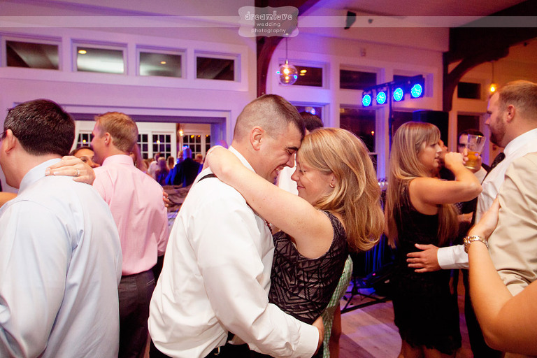 Guests dance the night away during the reception!