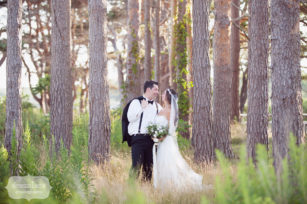 Documentary wedding photography at Odiorne State Park in NH for July wedding.