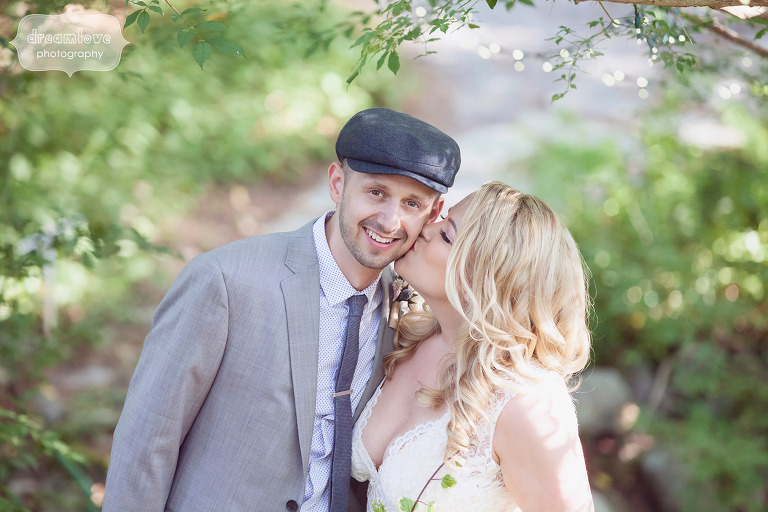 Romantic wedding photography at this rustic Cape Cod wedding in MA.