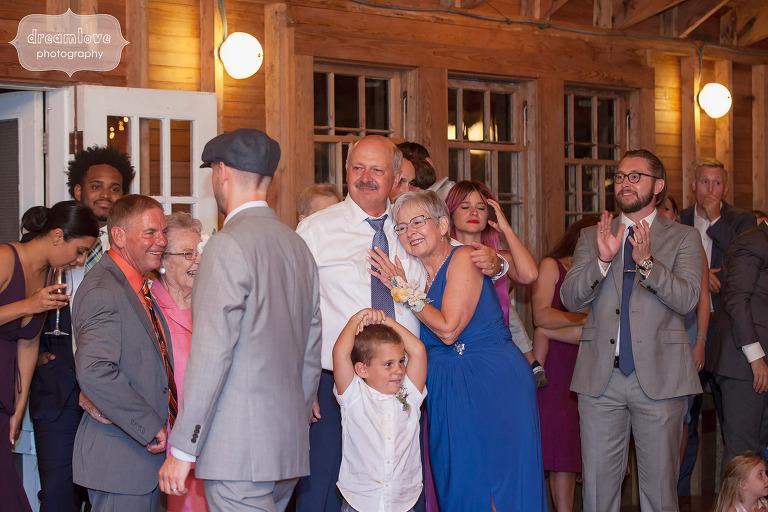 Documentary wedding photography of this Cape Cod wedding.