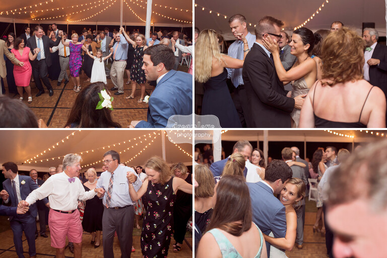 Cape Cod dancing photos at reception on Cape Cod.