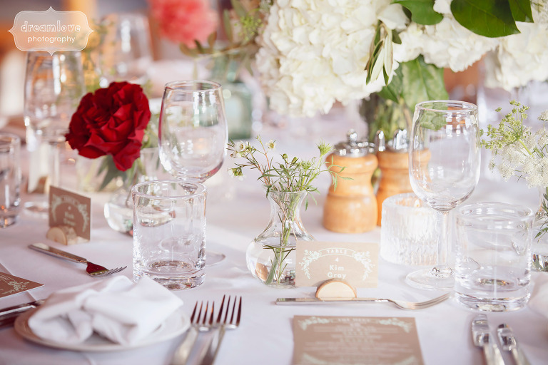 Tablescape ideas for this fall wedding in southern VT.