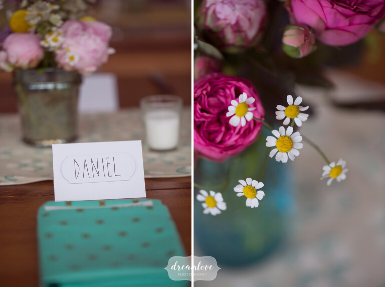 Modern photography at this colorful Cape Cod wedding at the Wychmere.