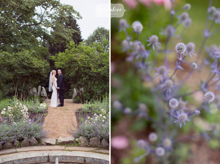 This garden wedding venue at the Moraine Farm on the north shore of MA is beautiful.