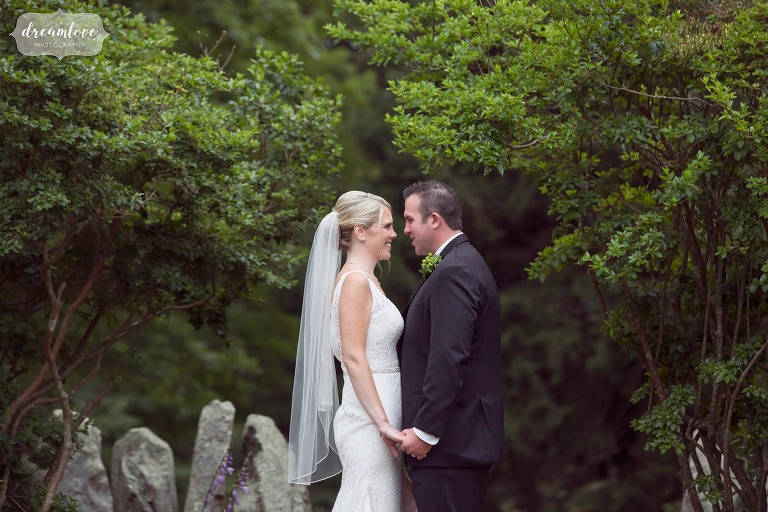 Ethereal and magical garden wedding photography at the Moraine Farm on the north shore.