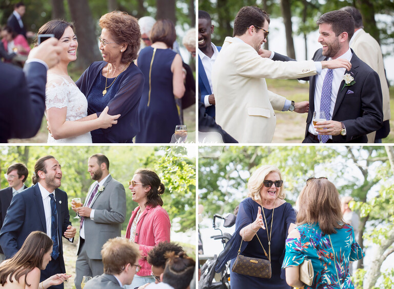 As candid wedding photographers, we try to capture happy moments of the wedding guests.