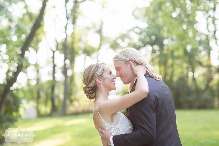 Romantic wedding photography in central PA at One Barn Farm country venue.