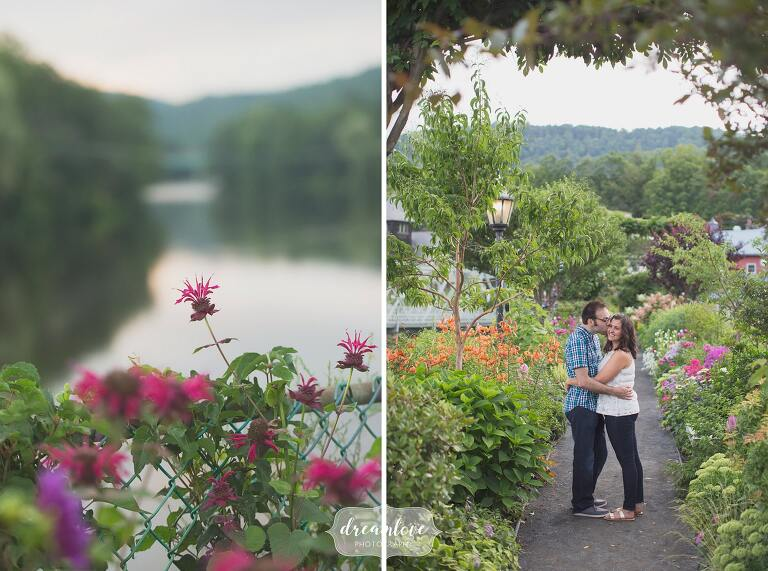 Based in Western Mass, we are wedding photographers who love places like the Bridge of Flowers in Shelburne Falls.
