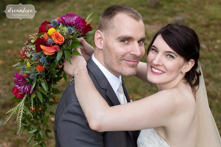 Romantic wedding photography at the Glen Magna Farms.