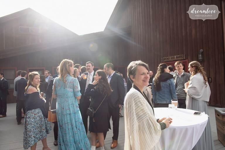 Colorado lodge wedding reception in Tabernash.