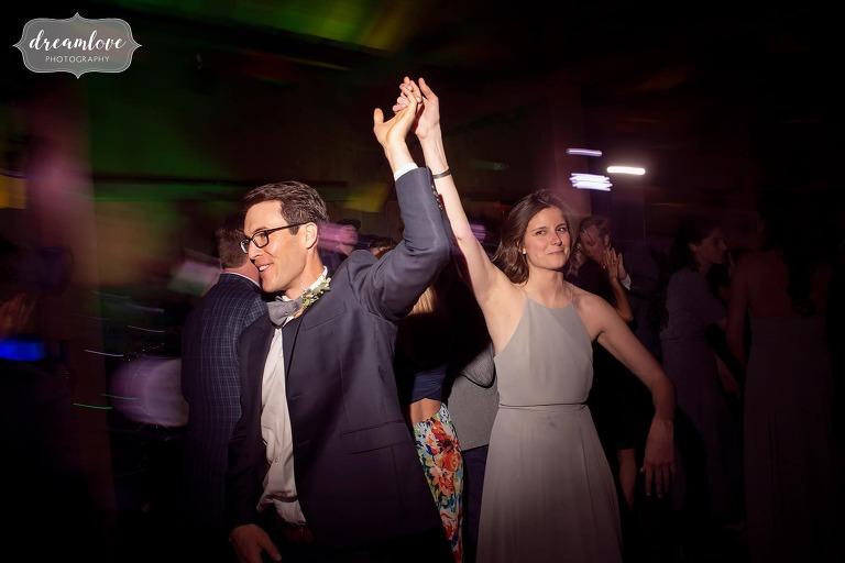 Dances at Devil's Thumb venue.