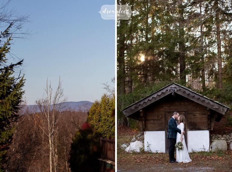 Vermont mountain wedding.