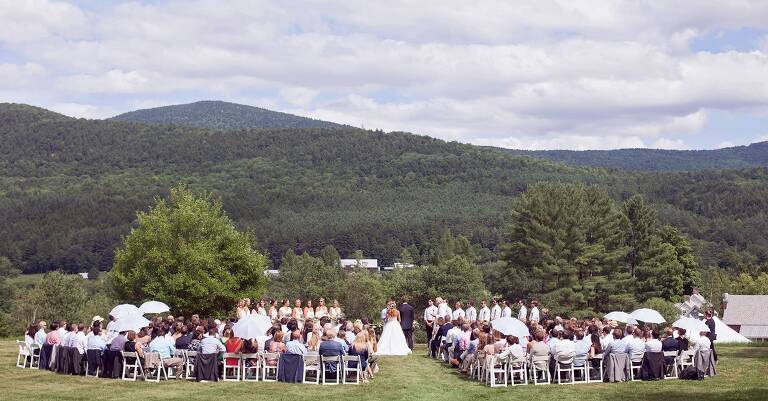 couple married in vermont mountains