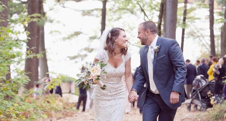 New Hampshire Fall Wedding at Windsor Mountain Camp